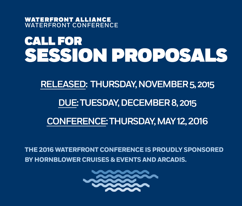 Submit Your Waterfront Conference Proposals By December 8