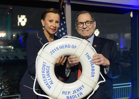 Rep. Nydia Velázquez and Rep. Jerrold Nadler